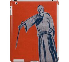 Iaido orange iPad Case/Skin