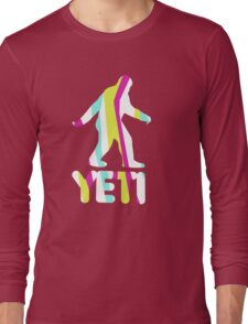 Grand Theft Yeti Long Sleeve T-Shirt