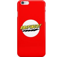 Baspingo! iPhone Case/Skin