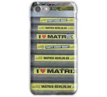 I Love Matrix iPhone Case/Skin