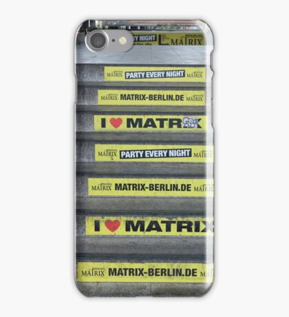 I Love Matrix iPhone Case/Skin