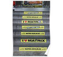 I Love Matrix Poster