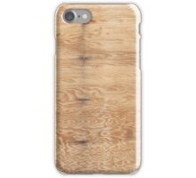 Texture – Plywood iPhone Case/Skin