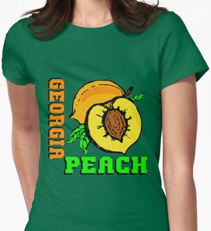 GEORGIA PEACH Womens Fitted T-Shirt