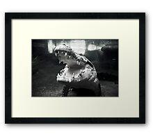 Rex The Crocodile Framed Print