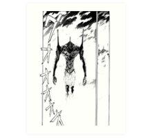 Evangelion – Unit-01 Art Print