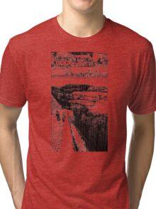 A Girl by the Sea – Rain Tri-blend T-Shirt