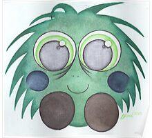 Green fluff Poster