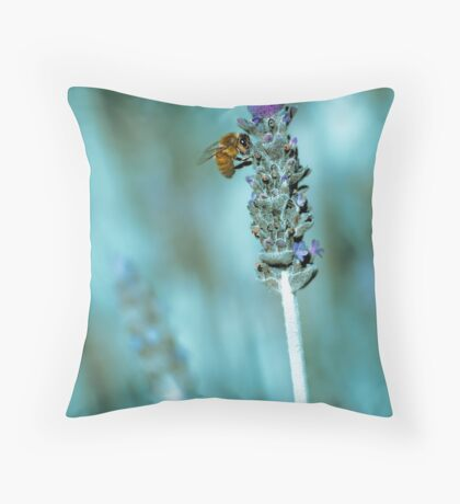 ...lavender blue... Throw Pillow