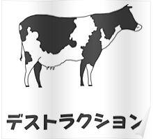Cow – Destruction Poster