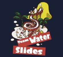Splatfest Team Water Slides v.2 Kids Tee