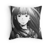 Punpun – Aiko Throw Pillow
