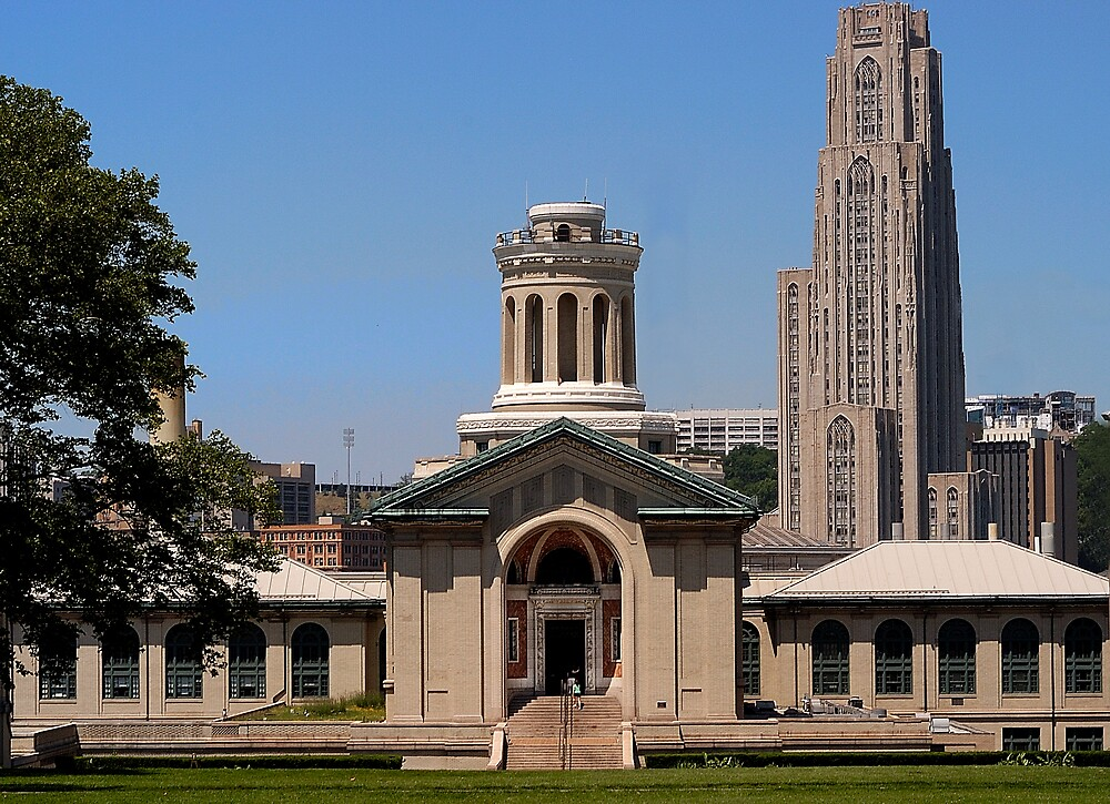 Hamerschlag Hall, Cathedral of Learning by Eric Seiverling