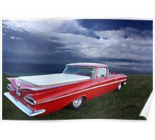 1959 Chevrolet el Camino Poster