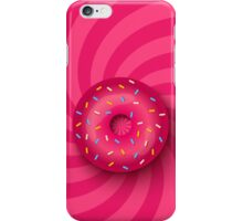 Pink donut  iPhone Case/Skin