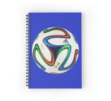 2014 FIFA World Cup Brazil match ball Spiral Notebook