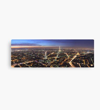 Paris – Night Life Canvas Print