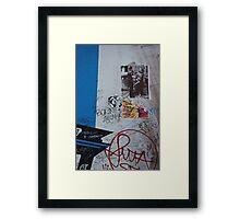 Live free or die Framed Print