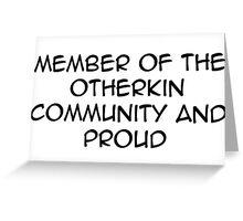 otherkin community  Greeting Card