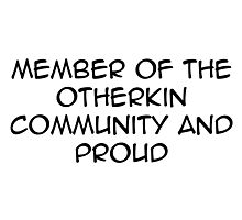otherkin community  Photographic Print