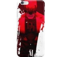 DD - Red Fear 1 iPhone Case/Skin