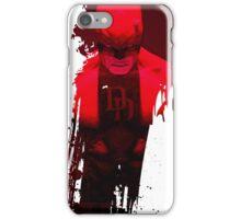 DD - Red Fear 1 iPhone Case/Skin