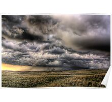 A stormy Nebraska Poster