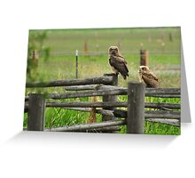 seeing double Greeting Card