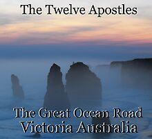 Twelve Apostles Great Ocean Road by Matthew Sims