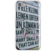 Many small places ... iPhone Case/Skin