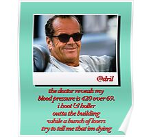 Jack Nicholson Quotes Poster