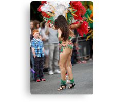 What do you think of my dancing? Canvas Print