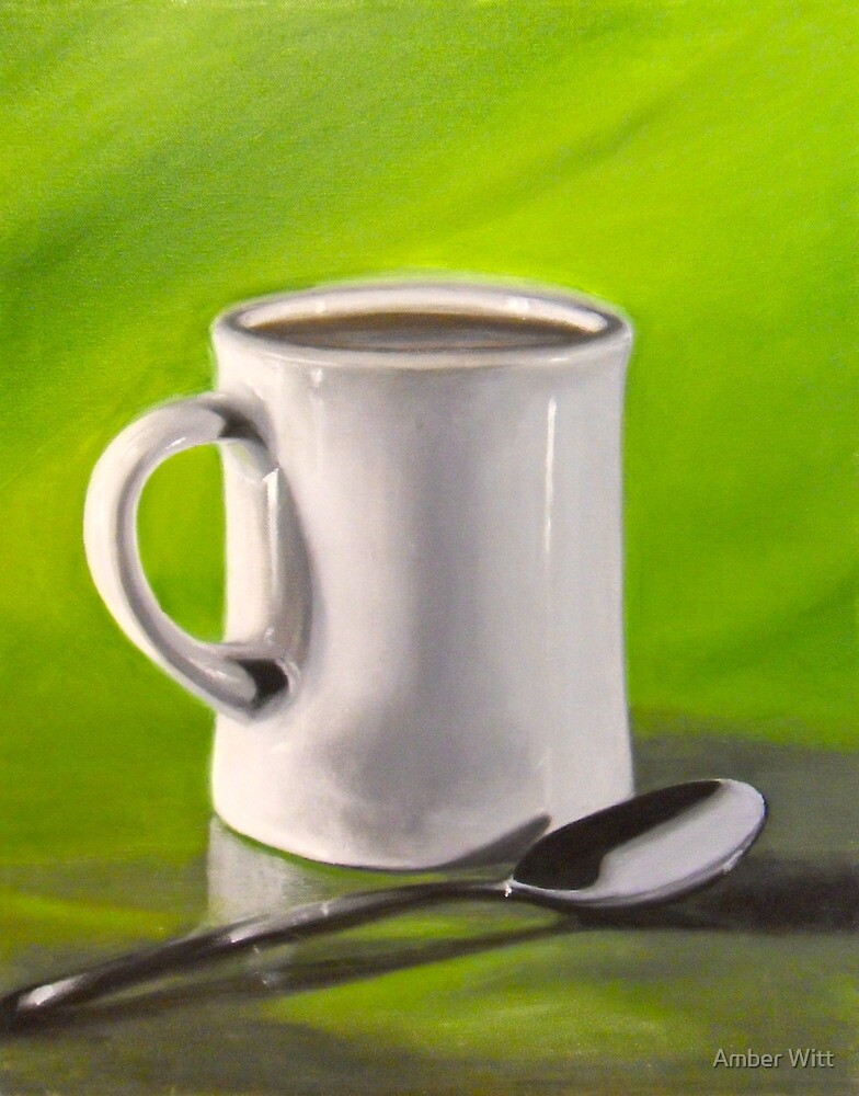 Mug and Spoon by Amber Witt