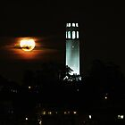 full moon rising by fototaker
