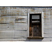Rusted Facade Photographic Print