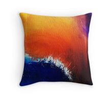 Ocean in the morning  Throw Pillow