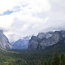 yosemite panorama by Bruce  Dickson