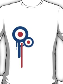 Mods Circles Drip T-Shirt