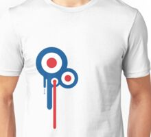 Mods Circles Drip Unisex T-Shirt