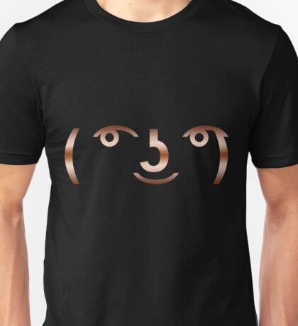 Shine On Copper Lenny Unisex T-Shirt