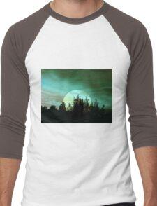 Light & Colour & Shapes (b) Men's Baseball ¾ T-Shirt