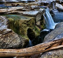 McKinney Falls State Park-Lower Falls by Judy Vincent