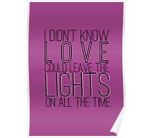 Leave the Lights On Poster