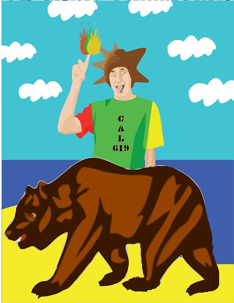 Haha Cali Kid $619$ by Matt Your A Creeper