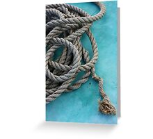 Mariners Rope Greeting Card