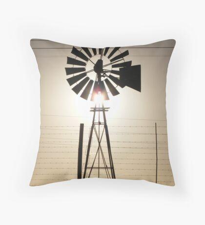 windmill Throw Pillow