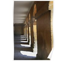North Colonade, Blenheim Palace Poster