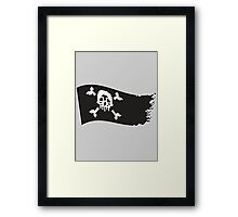 Jolly Pixel Framed Print