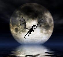 Dragon Moon by JulieFainArt