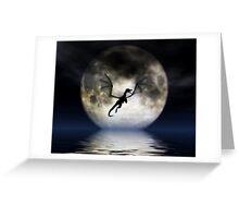 Dragon Moon Greeting Card
